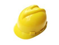 Κίτρινο κράνος ασφάλειας Στοκ εικόνες με δικαίωμα ελεύθερης χρήσης