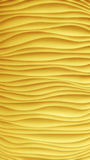 Κίτρινο κύμα σύσταση Στοκ φωτογραφία με δικαίωμα ελεύθερης χρήσης