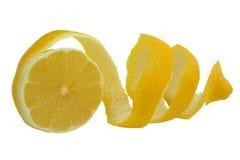 κίτρινο λεμόνι Στοκ Εικόνες