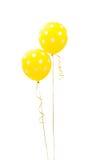 Κίτρινο μπαλόνι Στοκ φωτογραφίες με δικαίωμα ελεύθερης χρήσης