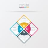 Κίτρινο, μπλε, ρόδινο χρώμα παρουσίασης ορθογωνίων Στοκ φωτογραφία με δικαίωμα ελεύθερης χρήσης