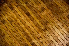 Κίτρινο ξύλινο παρκέ στοκ φωτογραφίες με δικαίωμα ελεύθερης χρήσης