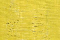 Κίτρινο ξύλινο υπόβαθρο σύστασης Στοκ φωτογραφία με δικαίωμα ελεύθερης χρήσης