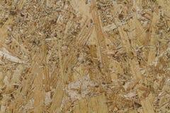 Κίτρινο ξύλο σύστασης Osb Στοκ φωτογραφία με δικαίωμα ελεύθερης χρήσης