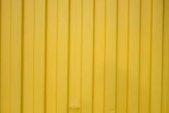 Κίτρινο πιάτο ψευδάργυρου - ψευδάργυρος σύστασης κίτρινος Στοκ Εικόνες