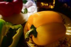 Κίτρινο πιπέρι Στοκ Εικόνες
