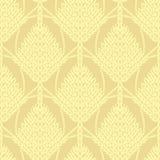 Κίτρινο πλεκτό δικτυωτό σχέδιο υποβάθρου Στοκ εικόνα με δικαίωμα ελεύθερης χρήσης
