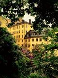 Κίτρινο σπίτι Στοκ Φωτογραφία