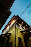Κίτρινο σπίτι Kauman Στοκ εικόνα με δικαίωμα ελεύθερης χρήσης