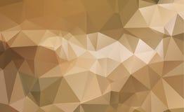 Κίτρινο σχέδιο Ight τριγωνικό πρότυπο γεωμετρικός Στοκ Εικόνες
