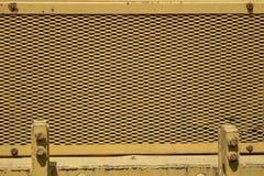 Κίτρινο τρακτέρ Στοκ φωτογραφίες με δικαίωμα ελεύθερης χρήσης