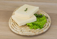 Κίτρινο τυρί Cheddar Στοκ Φωτογραφία
