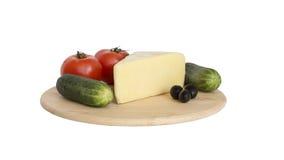 Κίτρινο τυρί - kashkaval Στοκ Εικόνες