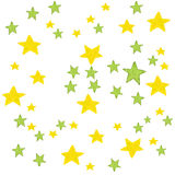 Κίτρινο υπόβαθρο αστεριών watercolor Απεικόνιση Watercolor για τη ευχετήρια κάρτα, αυτοκόλλητη ετικέττα, αφίσα, έμβλημα Απομονωμέ Στοκ φωτογραφία με δικαίωμα ελεύθερης χρήσης