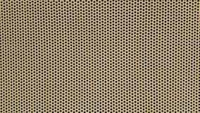 Κίτρινο υπόβαθρο με τα μαύρα σημεία Στοκ εικόνες με δικαίωμα ελεύθερης χρήσης