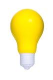 Κίτρινο φως βολβών Στοκ φωτογραφία με δικαίωμα ελεύθερης χρήσης