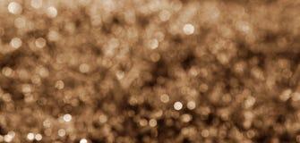 Κίτρινο φως Bokeh Στοκ Φωτογραφίες