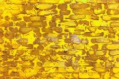 Κίτρινο χρώμα σχεδίων του σύγχρονου διακοσμητικού ανώμαλου χρωμίου σχεδίου ύφους Στοκ φωτογραφία με δικαίωμα ελεύθερης χρήσης
