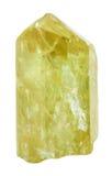 Κίτρινο Apatite χρυσό Apatite κρύσταλλο Στοκ εικόνες με δικαίωμα ελεύθερης χρήσης