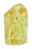 Κίτρινο Apatite χρυσό Apatite, χρυσός Apatite βράχος Στοκ φωτογραφία με δικαίωμα ελεύθερης χρήσης