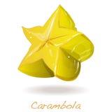 Κίτρινο carambola φρούτων Στοκ Φωτογραφία