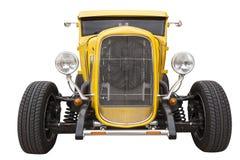 Κίτρινο hotrod Στοκ Εικόνες