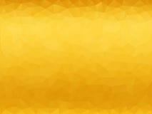 Κίτρινο polygonal υπόβαθρο Στοκ φωτογραφία με δικαίωμα ελεύθερης χρήσης