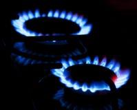 καίγοντας αέριο Στοκ Εικόνες