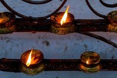 Καίγοντας λαμπτήρες Στοκ Εικόνα