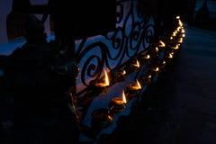 Καίγοντας λαμπτήρες Στοκ φωτογραφίες με δικαίωμα ελεύθερης χρήσης