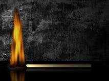 καίγοντας αντιστοιχία στοκ εικόνες