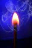 Καίγοντας αντιστοιχία Στοκ εικόνα με δικαίωμα ελεύθερης χρήσης