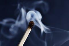 καίγοντας αντιστοιχία Στοκ Φωτογραφίες