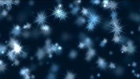Καίγοντας αστέρια, τρέμοντας αστέρια διανυσματική απεικόνιση