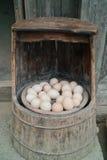 καίγοντας αυγά άνθρακα Στοκ φωτογραφίες με δικαίωμα ελεύθερης χρήσης
