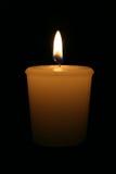 καίγοντας κερί Στοκ Φωτογραφίες