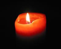 καίγοντας κερί Στοκ φωτογραφία με δικαίωμα ελεύθερης χρήσης