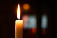 καίγοντας κερί Στοκ εικόνα με δικαίωμα ελεύθερης χρήσης