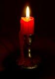 καίγοντας κερί Στοκ Εικόνες