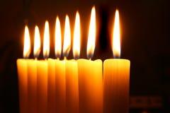 καίγοντας κεριά Στοκ Φωτογραφία