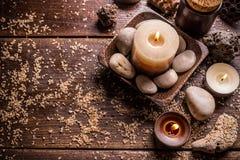 καίγοντας κεριά Στοκ φωτογραφίες με δικαίωμα ελεύθερης χρήσης