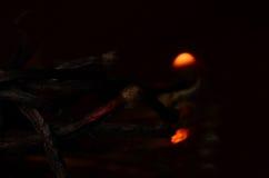 Καίγοντας κινηματογράφηση σε πρώτο πλάνο αντιστοιχιών Στοκ φωτογραφία με δικαίωμα ελεύθερης χρήσης