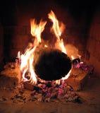 καίγοντας πυρκαγιά στοκ εικόνες