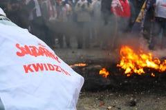 καίγοντας ρόδες Στοκ εικόνες με δικαίωμα ελεύθερης χρήσης