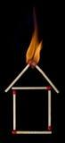 Ασφάλεια πυρκαγιάς για το σπίτι σας Στοκ Εικόνες