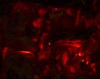 καίγοντας χοβόλεις Στοκ εικόνα με δικαίωμα ελεύθερης χρήσης