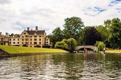 Καίμπριτζ, Cambridgeshire, Αγγλία Στοκ Εικόνες