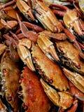 Καβούρια ‹â€ ‹θάλασσας †στην αγορά στοκ εικόνες