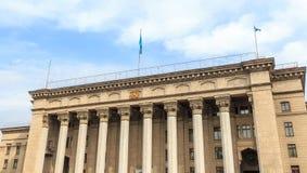 Καζάκος-βρετανικό τεχνικό πανεπιστήμιο Αλμάτι, Καζακστάν Στοκ Εικόνες