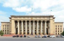 Καζάκος-βρετανικό τεχνικό πανεπιστήμιο Αλμάτι, Καζακστάν Στοκ εικόνα με δικαίωμα ελεύθερης χρήσης
